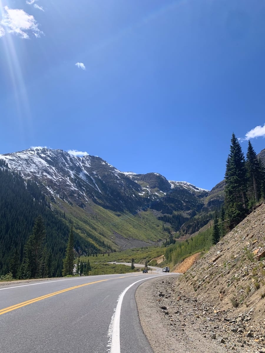 Driving the Million Dollar Highway on our Colorado road trip