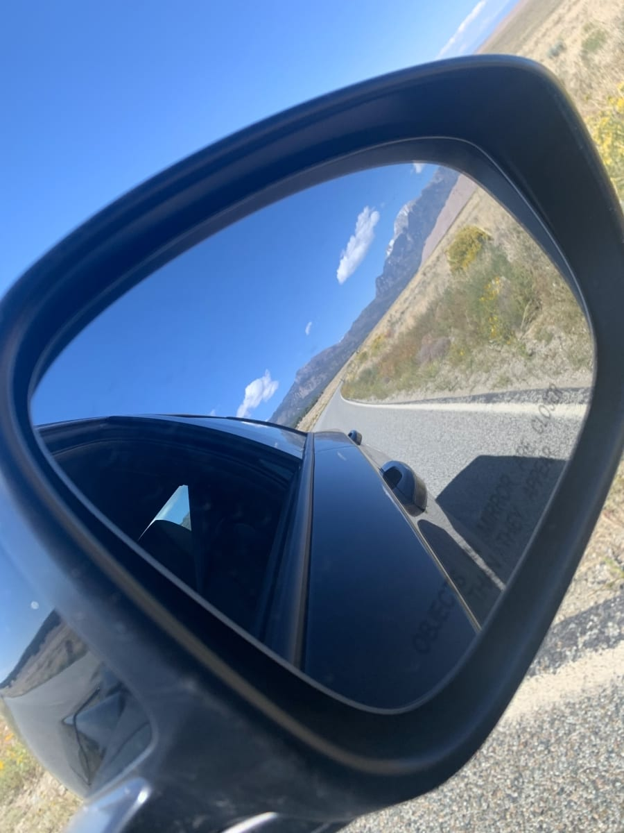 GSNP In the Side Mirror