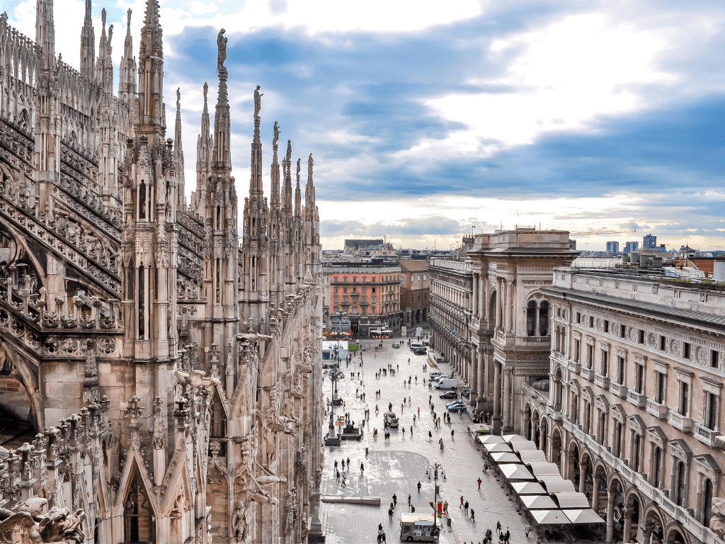 Milan Italy's Beautiful Architecture