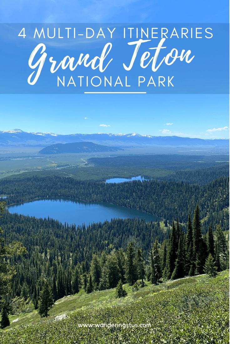 Grand Teton Itinerary Pin