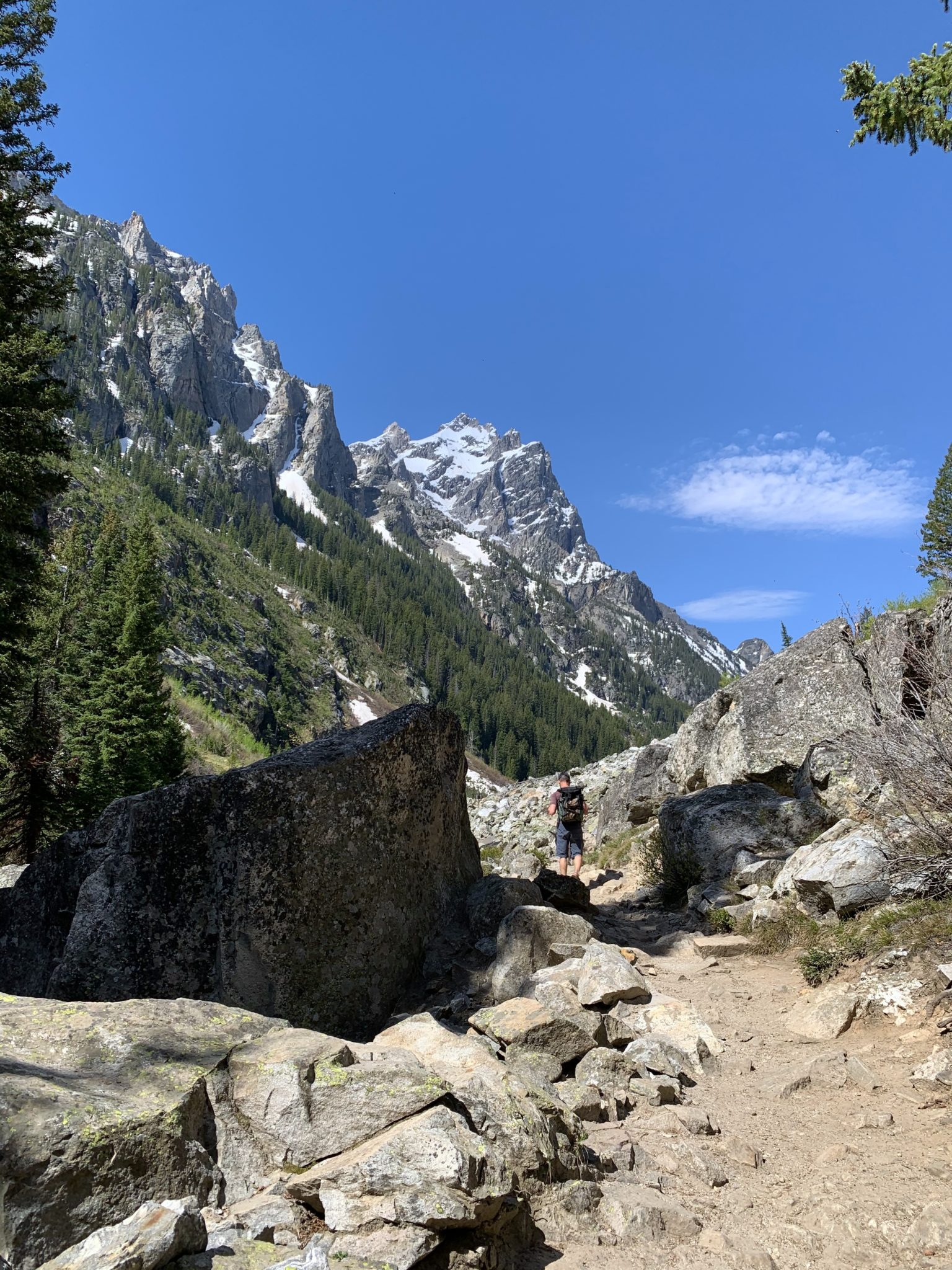 Cascade Canyon Hike in Grand Teton