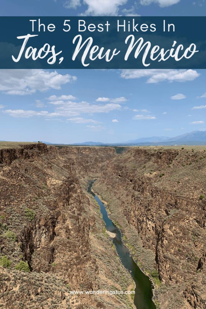 Hiking in Taos Pin