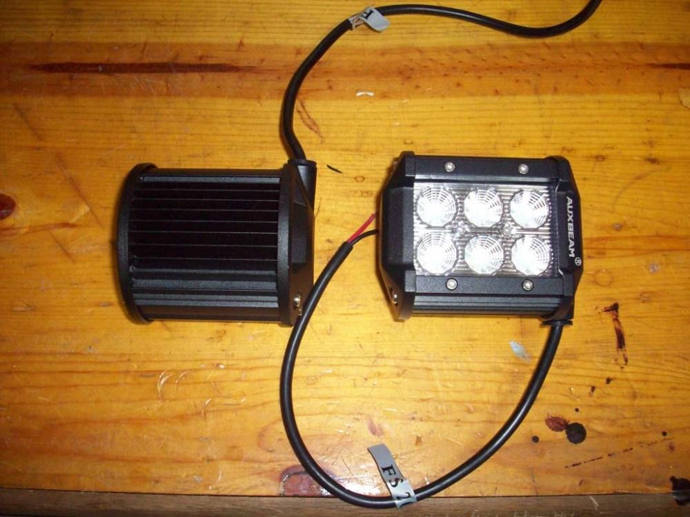 medium resolution of extra headlight wiring