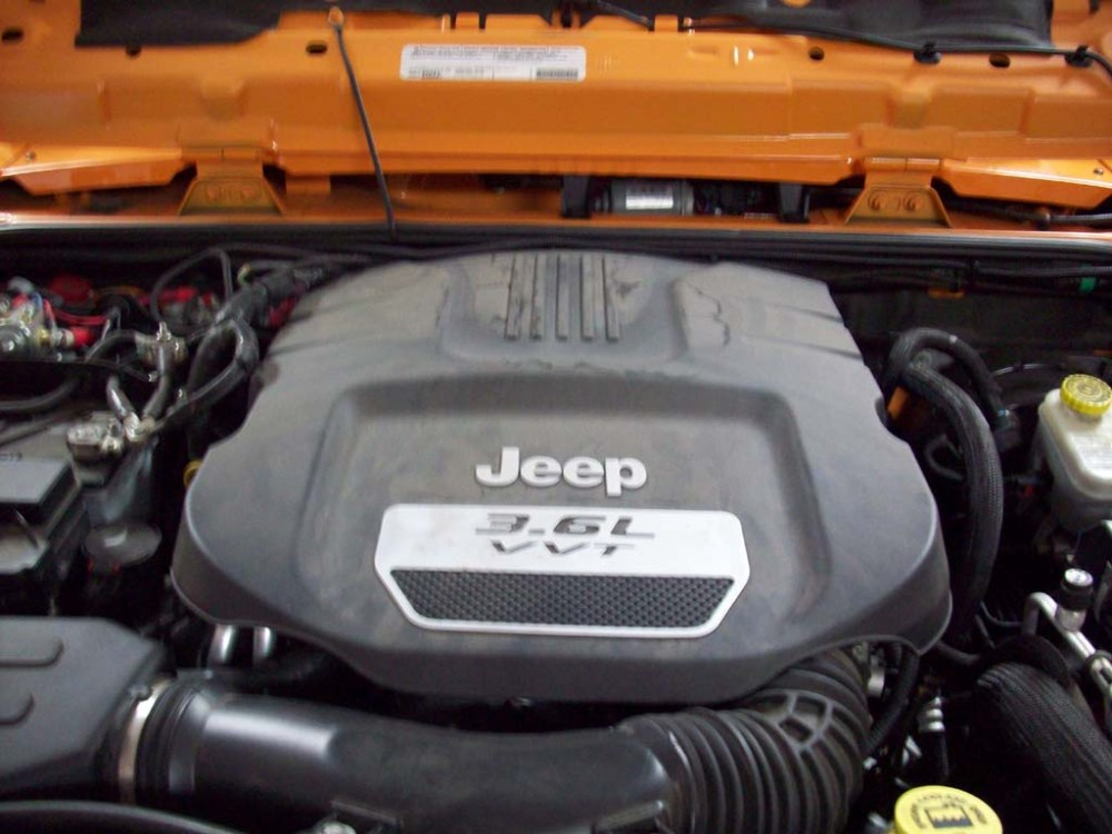 medium resolution of turn off the jeep and reinstall the engine cover