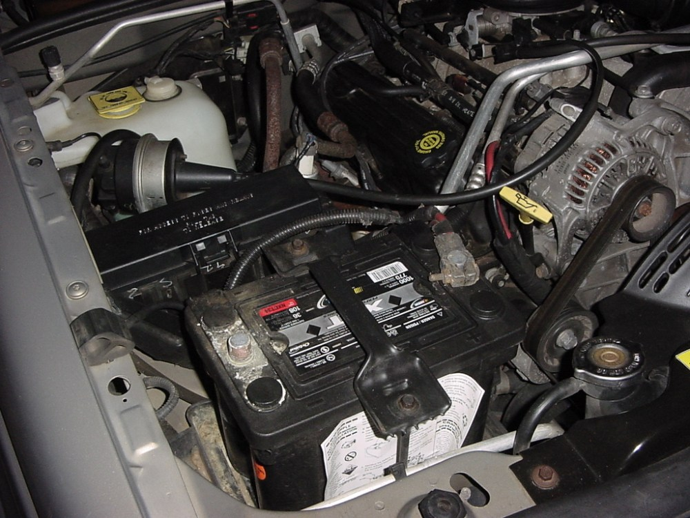 medium resolution of open up the hood since we will be dealing with the battery and fuel pump relay