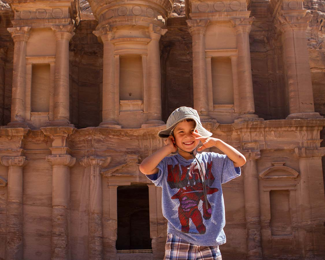 8 day Jordan Itinerary with kids