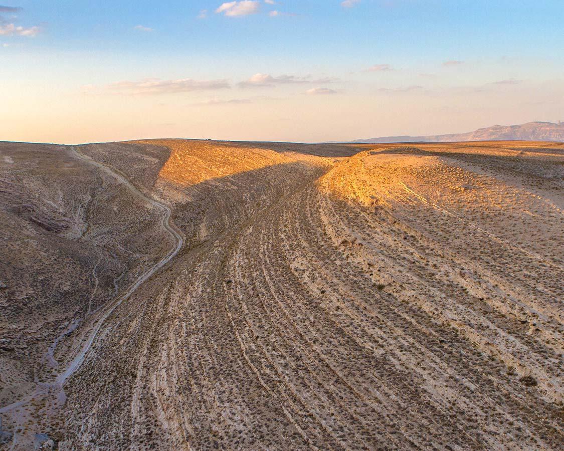 Landscape in Karak Jordan