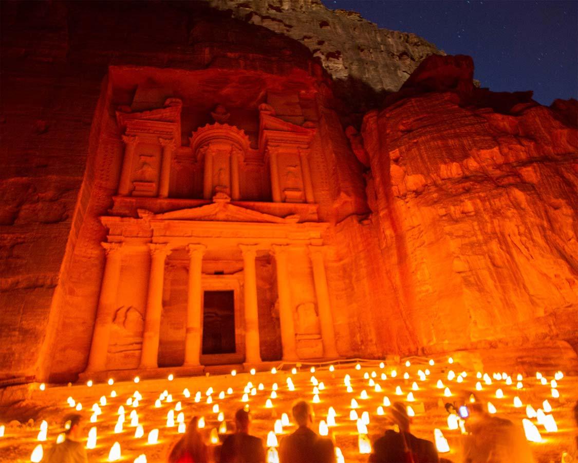 Petra By Night on Jordan Holiday