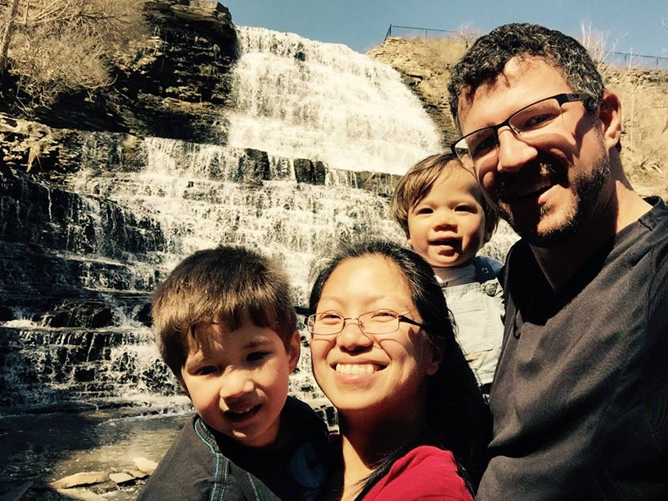 Weber Falls in Hamilton