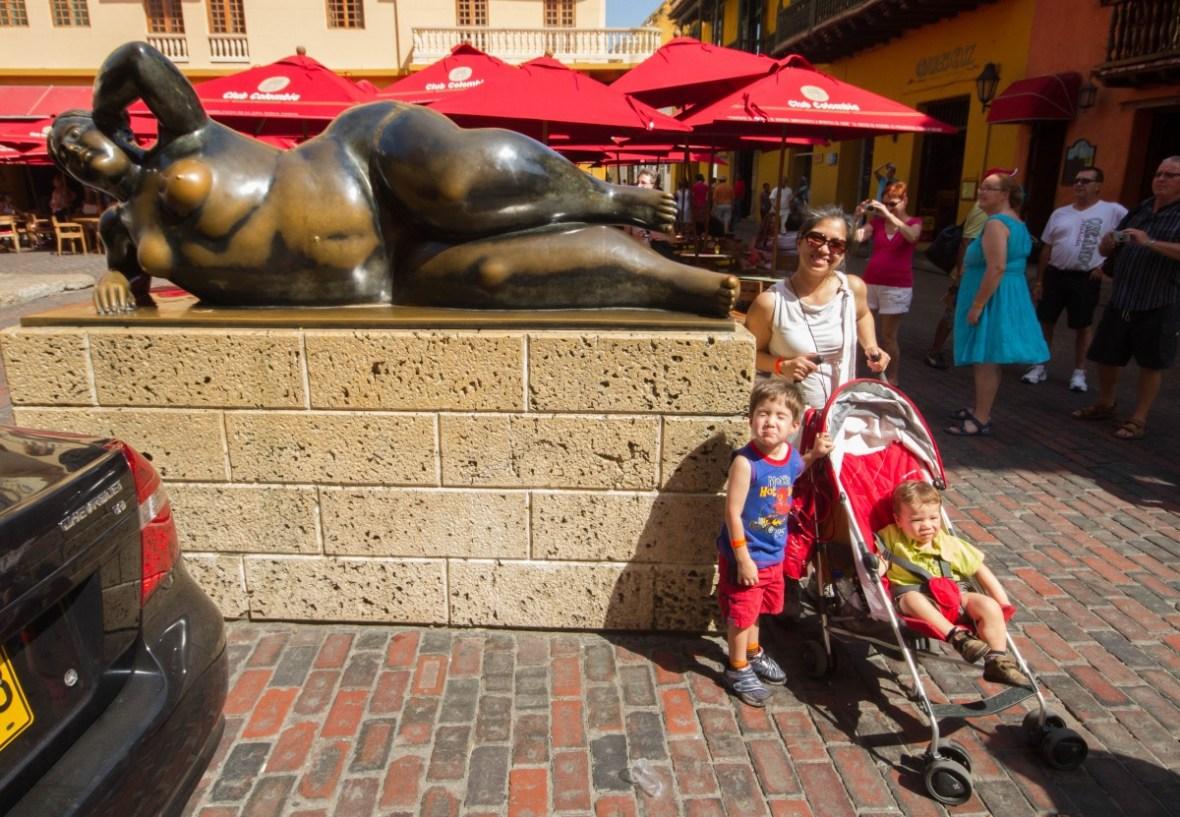 Cartagena - The Reclining Nude