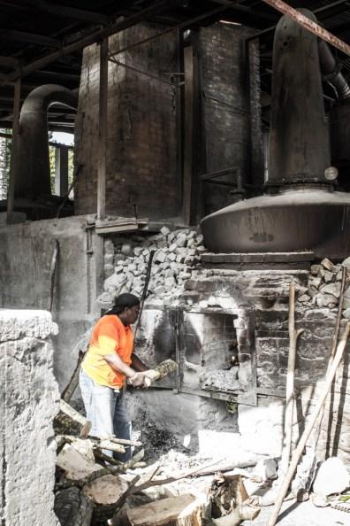Rum Distillery Worker