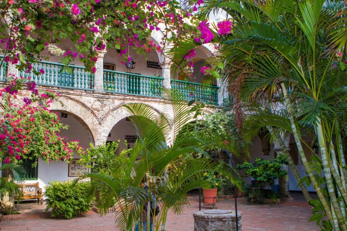Cartagena - Courtyard at the Convento de la Popa