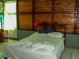 Well made beds at an eco resort in Costa Rica - finding paradise in the osa peninsula