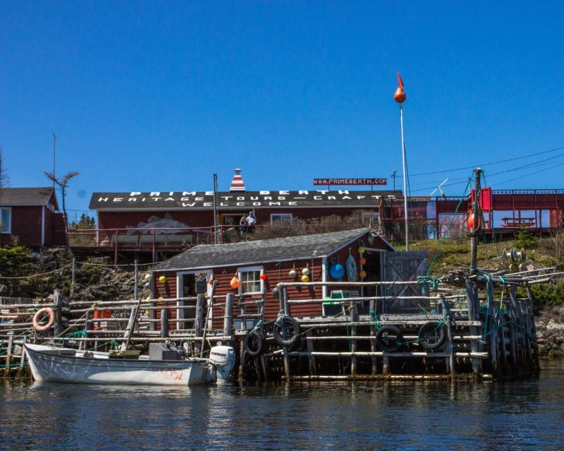 The Prime Berth Fishing Museum run by Capt. David Boyle and his wife