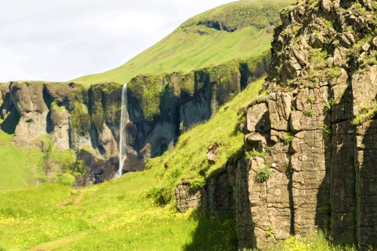 Basalt cliffs, waterfalls and green fields - An Epic 14 Day Iceland Itinerary