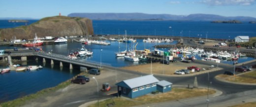 A view over a fishing town in Iceland - An Epic 14 Day Iceland Itinerary
