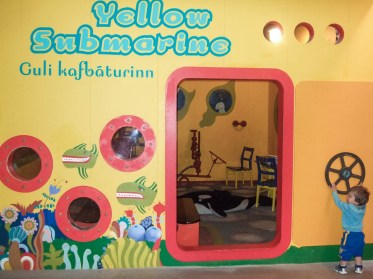 A childrens play area called the Yellow submarine - An Epic 14 Day Iceland Itinerary