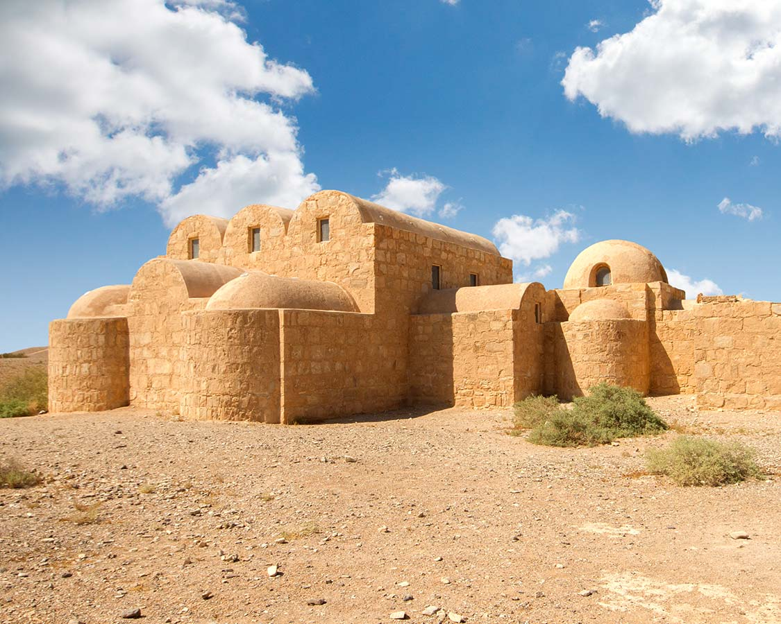 Jordan Castles-Qasr-Amra