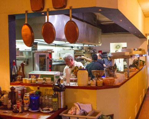 Kitchen of Wahoo Bistro and Pub in St George Bermuda.