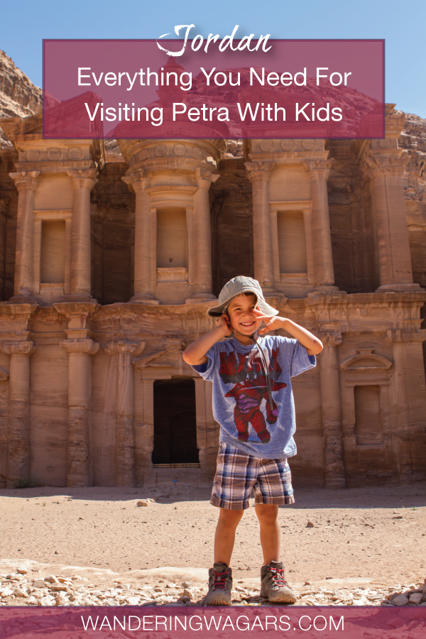 Travel to Petra with kids