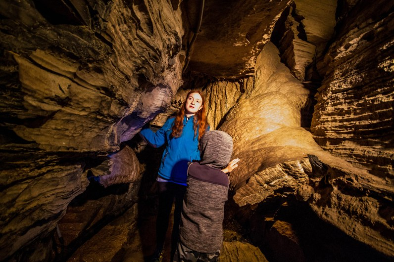 Secret Caverns New York can be visited by joining a tour which are led by highly informative guides.