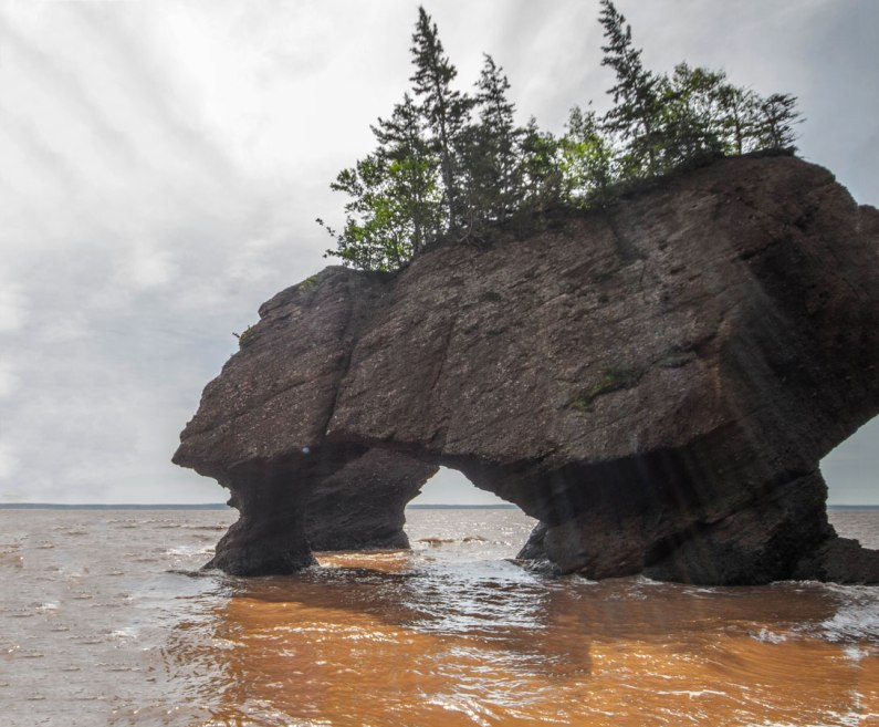 Hopewell Rocks New Brunswick is one of the most amazing places in Canada