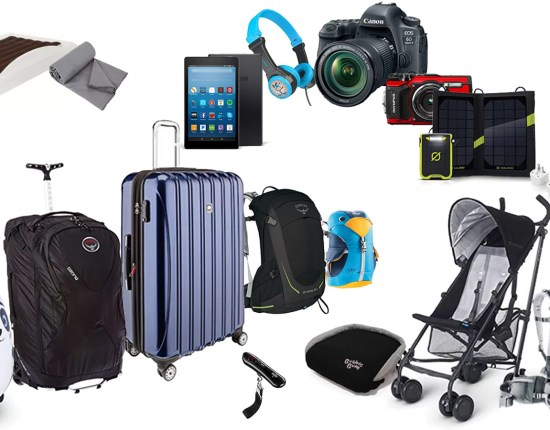 Best family travel gear