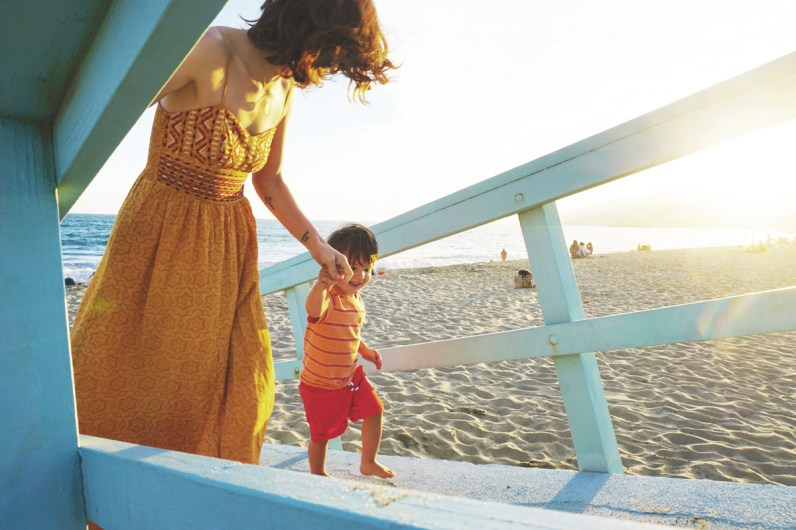 Malibu Beach in Los Angeles California is a perfect spot for those visiting Los Angeles with kids