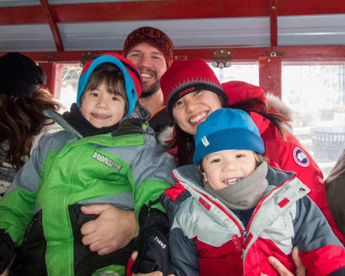 Gondola ride on a Japan Ski Holiday