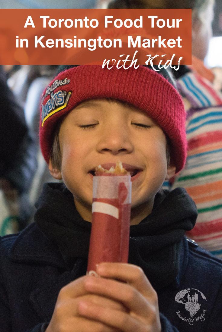 Toronto food tours with kids with Tasty Tours Toronto in Kensington Market