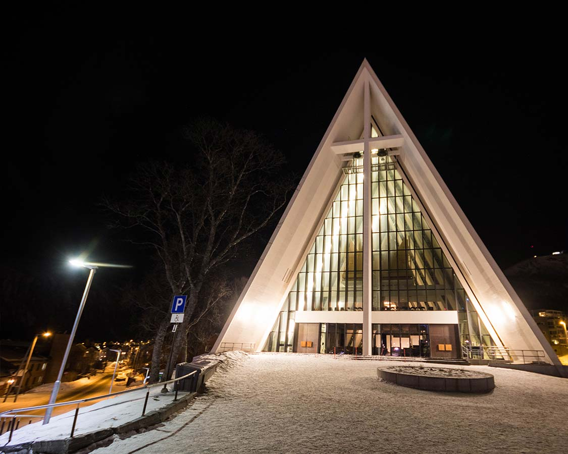 Arctic Cathedral in Tromso Norway
