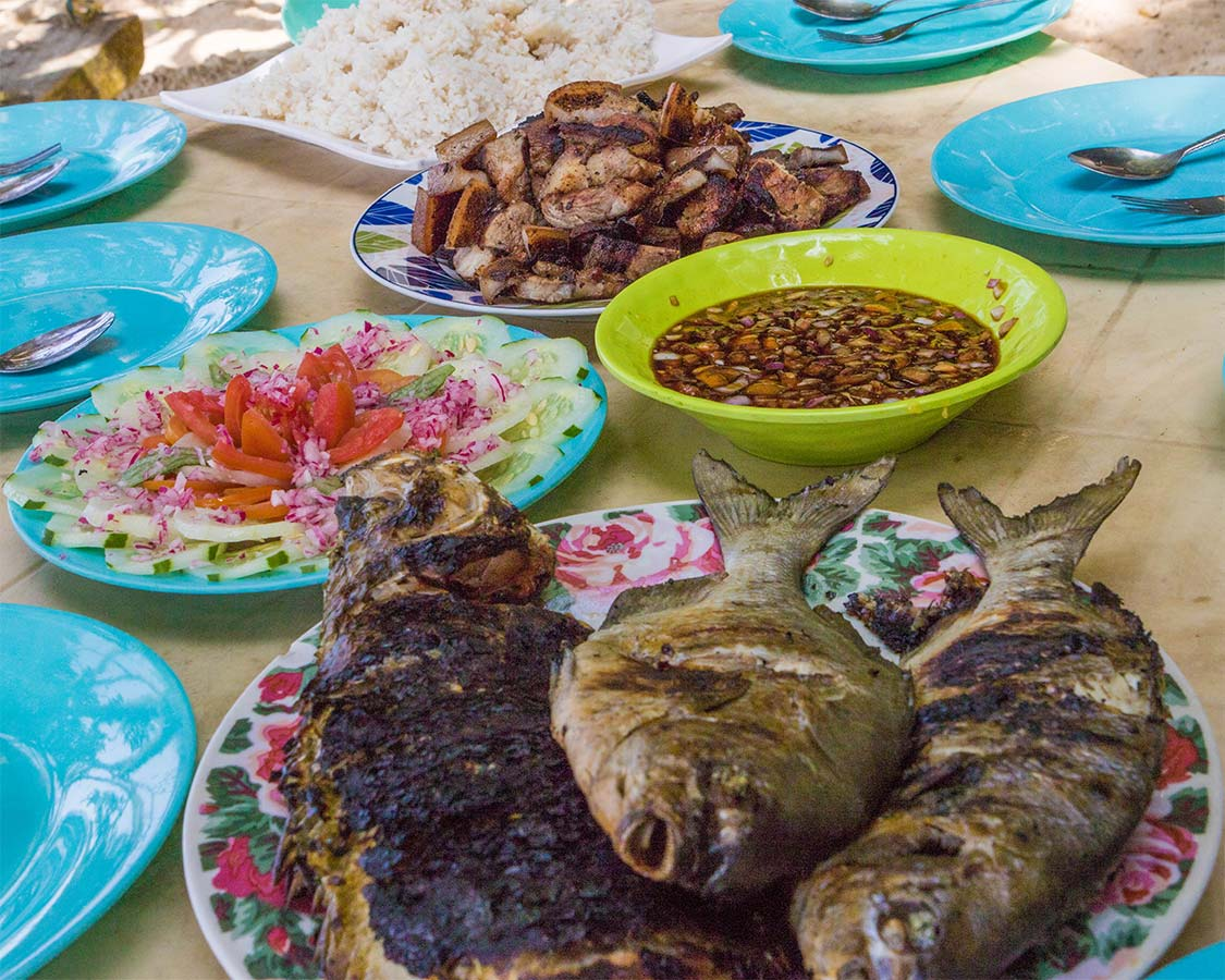 Things To Do in San Vinente Island Food