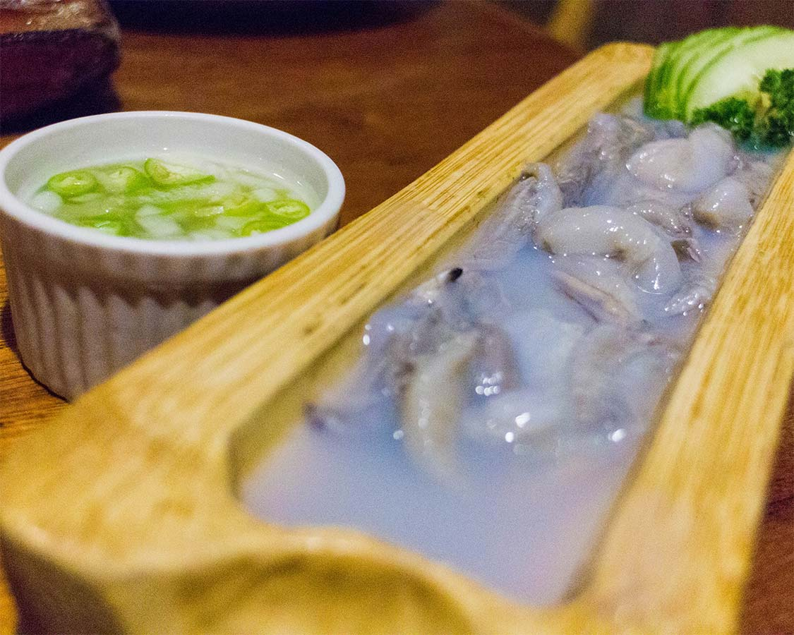 Things to do in San Vicente- Eat Tamilok in Palawan