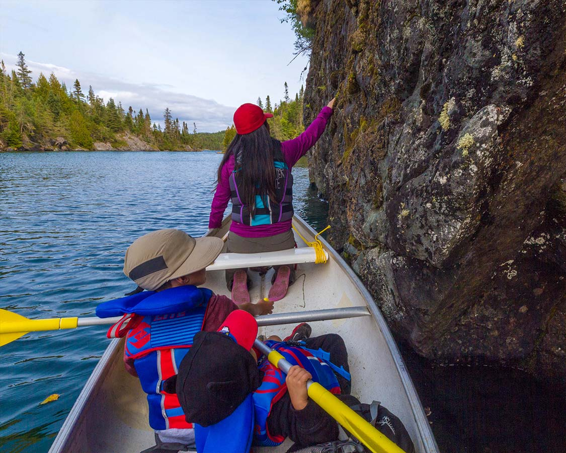Canoeing in Pukaskwa National Park