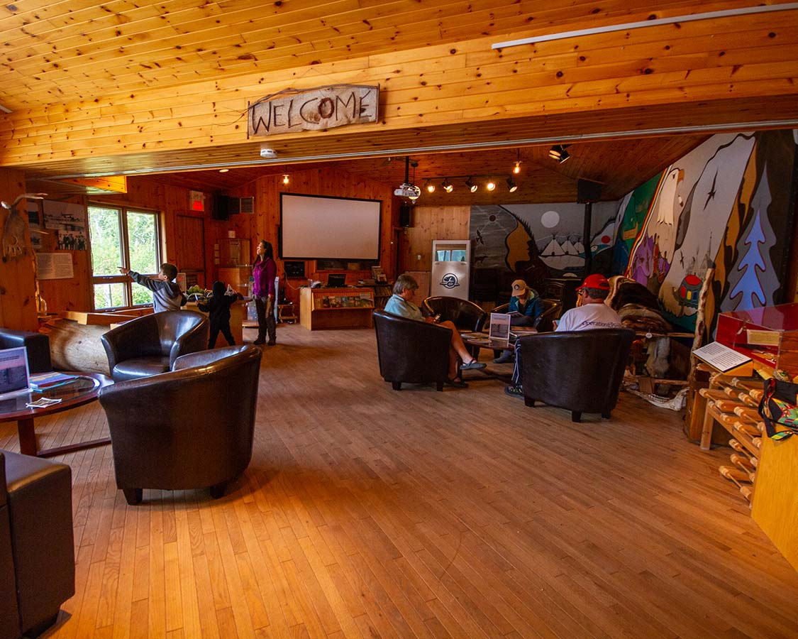 Pukaskwa National Park Visitor Centre