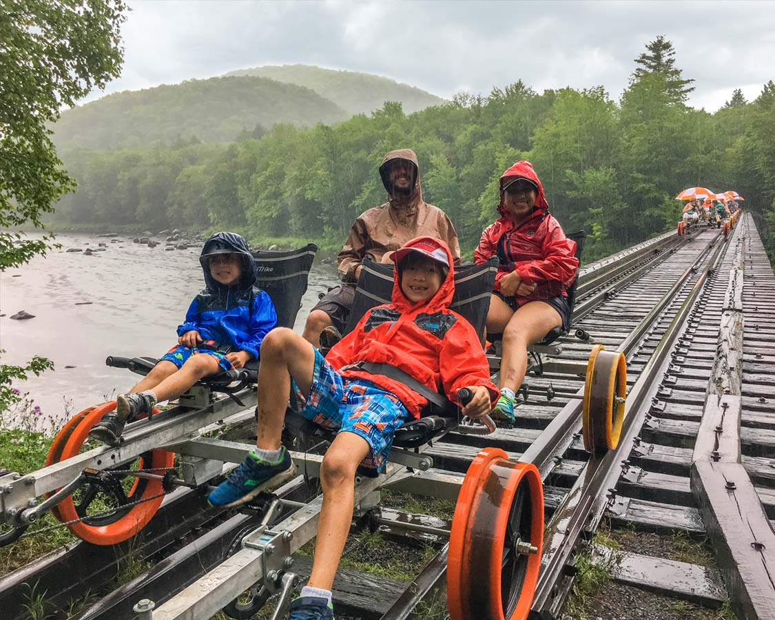 Revolution Things To do in North Creek NY Rail Co Rail Bike Adirondacks