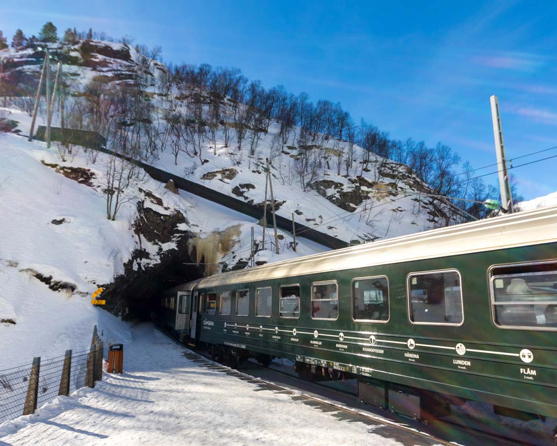 Things To Do In Flam In Winter Flamsbana Railway To Myrdal