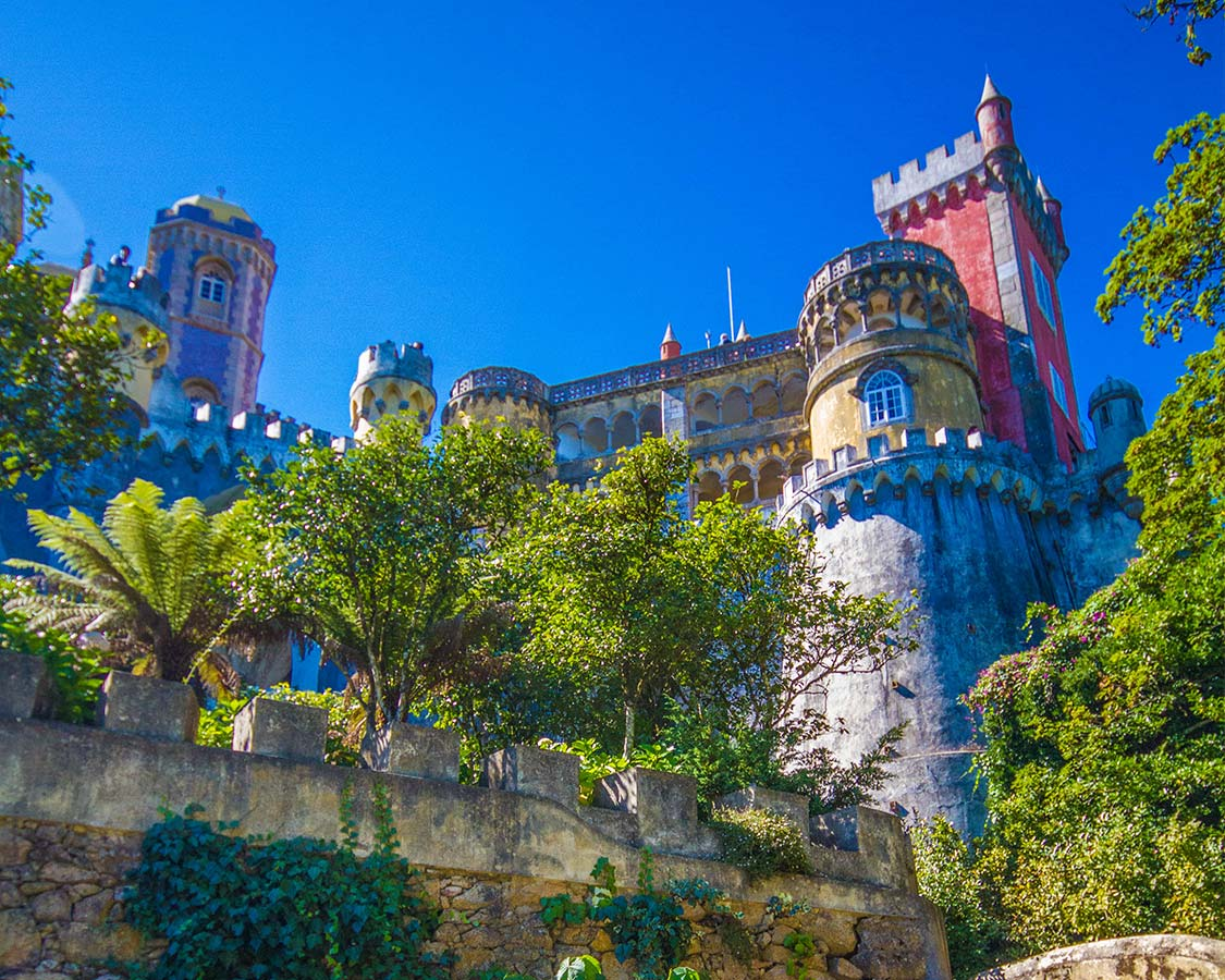 things to do near Lisbon with kids Sintra Palace