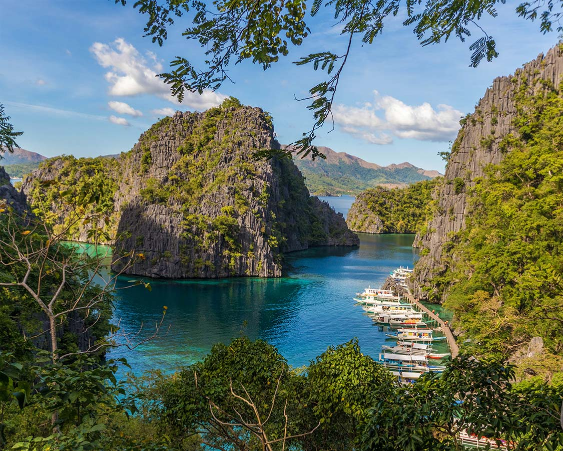 what to do in palawan philippines view from Kayangan Lake