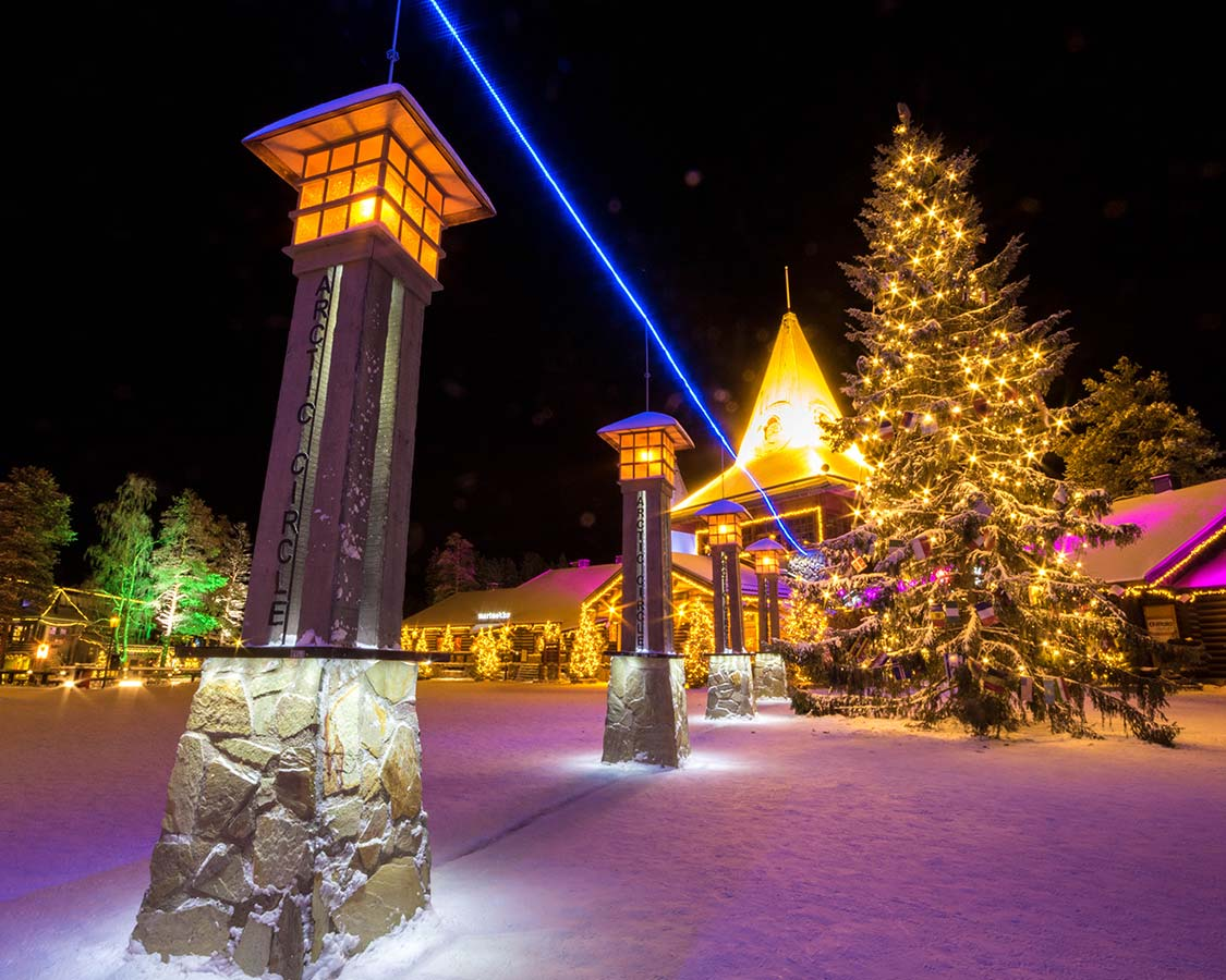 Santa Claus Village Lapland Arctic Circle Line