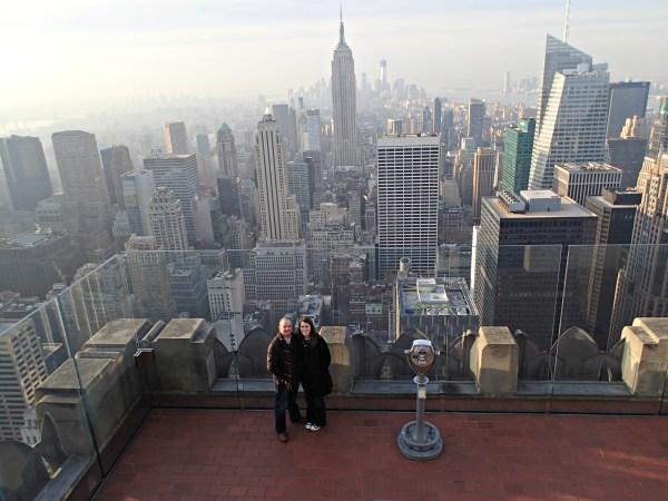 Views In Nyc- Top Of Rock Empire State Building - Wandering Weekenders