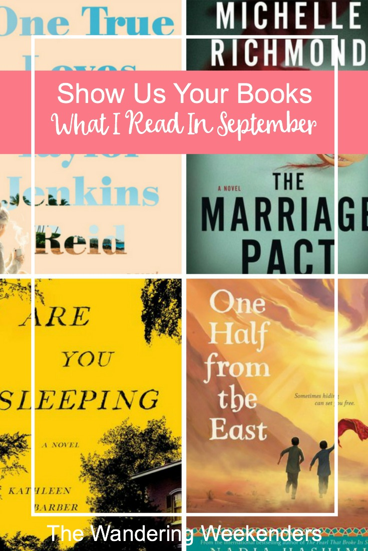 Show Us Your Books What I Read In September  The
