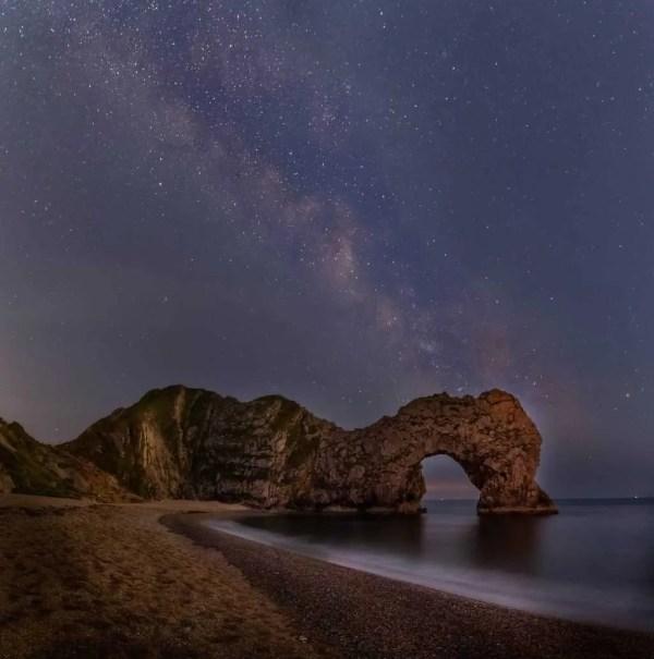 Durdle Door Milky Way