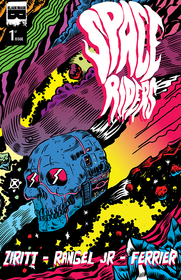 Space Riders cover by Alexis Ziritt & Fabian Rangel Jr