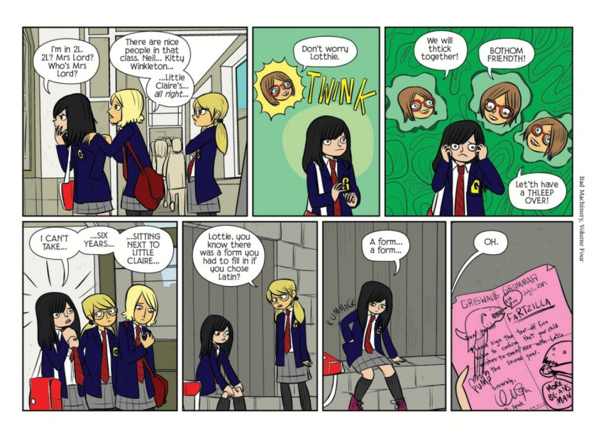 Bad Machinery: The Case of the Lonely One page by John Allison
