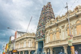 Top Attractions in Penang Walk of Harmony : Sri Mahamariamman Temple