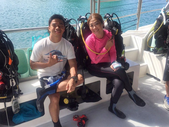 First Time Diving with Lakwatsero Angel