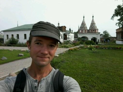 Im Mariä Gewandniederlegungs Kloster (uff, was für ein Titel) ist mal ein Selfi angesagt.
