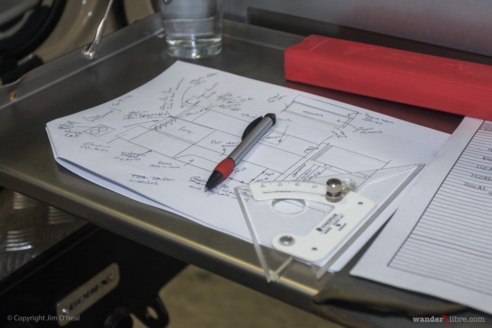 Blueprints for Custom Land Cruiser Troop Carrier Interior