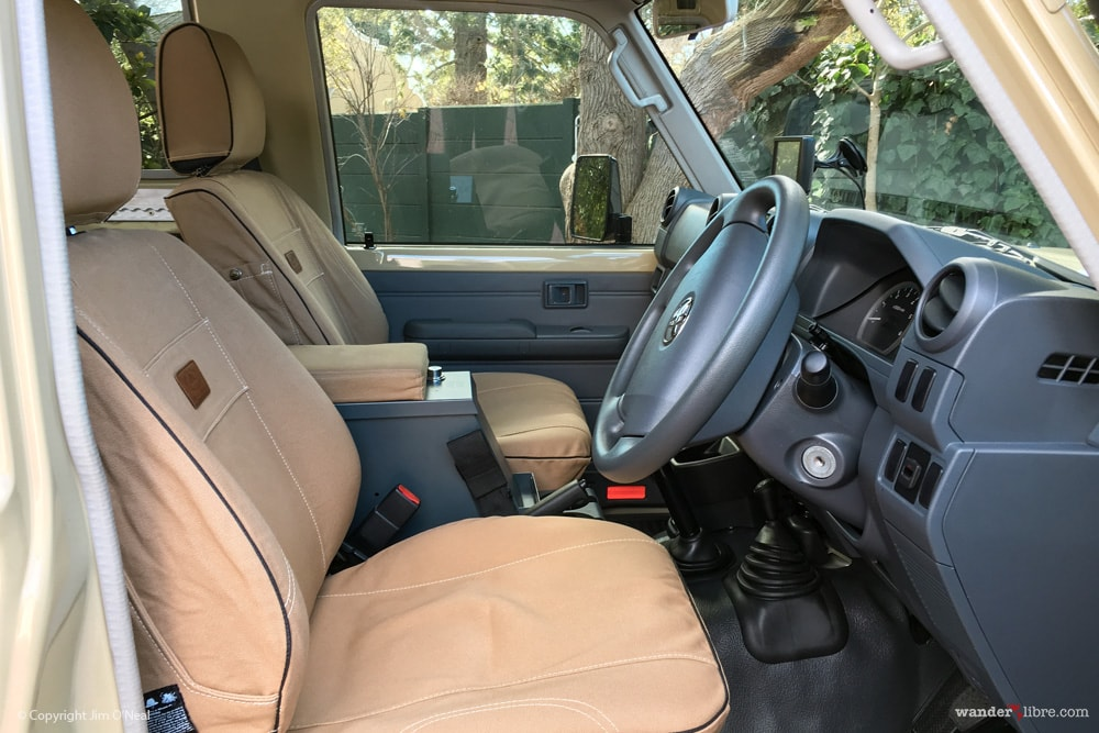 Front Seats With Melvill & Moon Seat Covers